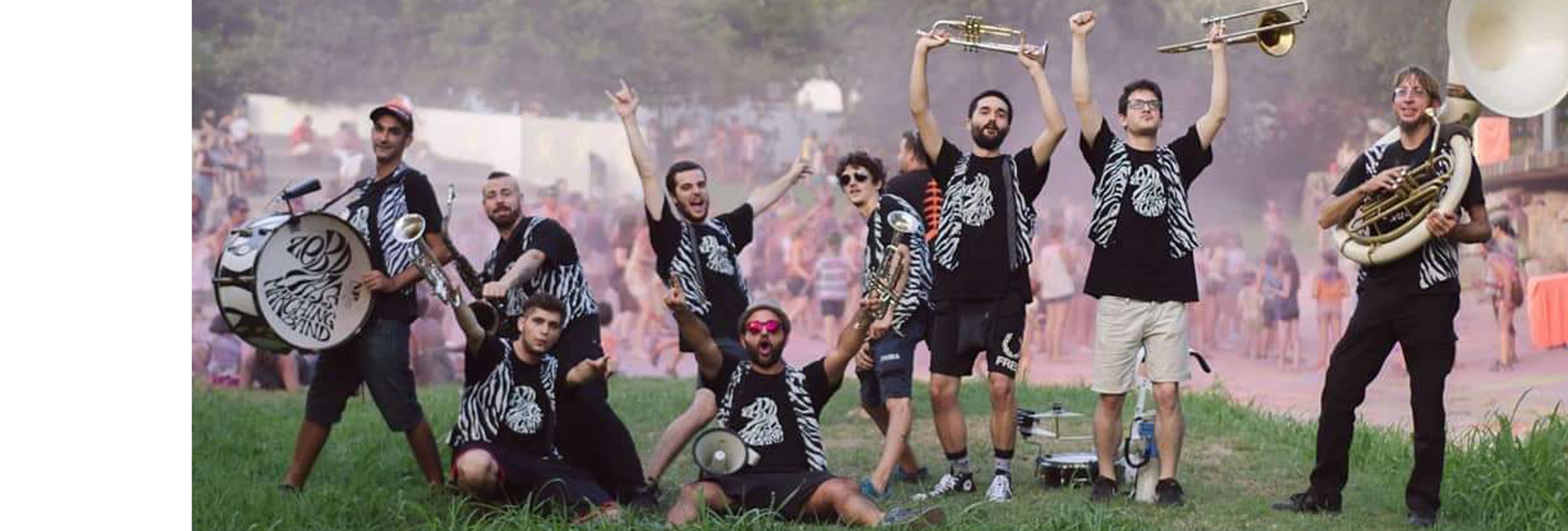 Web-Zebrass marching band